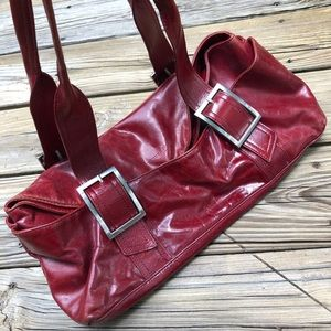 Leather Kenneth Cole purse